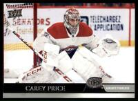 2020-21 UD Series 2 Base French #353 Carey Price - Montreal Canadiens