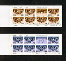 (YRAB 339) Belarus 2004 MNH Fisherman Mich 543 -4 Scott 522a, 523a Booklet set
