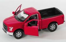 BLITZ VERSAND Ford F-150 Regular Cab 2015 rot / red Welly Modell Auto 1:34 NEU