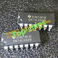 10PCS SN74LS86N TI IC GATE XOR 4CH 2-INP 14-DIP good quality new