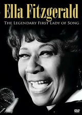 Ella: ELLA FITZGERALD: THE LEGENDARY FIRST LADY OF SONG DVD Brand New Authentic