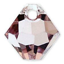 Swarovski Crystal TopDrillBicone LightAmethyst Color6mm. Approx 24 PCS 6328-6301
