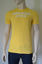 New abercrombie & fitch cave mountain jaune tee t-shirt xxl