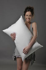 STANDARD SOFT PILLOW 70% WHITE HUNGARIAN GOOSE DOWN BETTER THAN HOTEL QUALITY