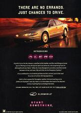 1998 Oldsmobile Alero - Chances - Classic Vintage Advertisement Ad D180