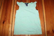 RALPH LAUREN T-Shirt weiß grün gestreift 5 Jahre Gr. Shirt