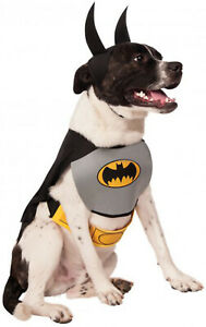 Rubies Dc Comics Pet Costume, Classic Batman, Large, Multicolor