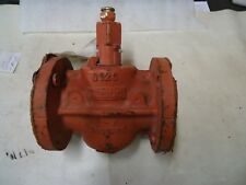 """RESUN HUBER D126 2"""" PLUG VALVE WITH 104 LUB & BUTTON HD FITTING 200WOG 37508"""