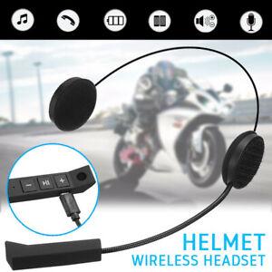 Motorrad Helm Bluetooth Headset Motorräder Intercom Gegensprechanlage Kopfhörer