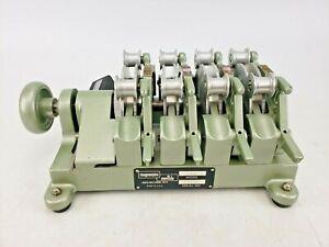 Vintage Magnasync  Moviola Model SZD 16mm Film Synchronizer 4-Gang Veeder-Root