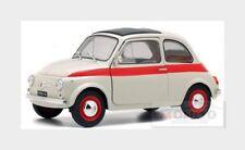Fiat Nuova 500L Sport 1960 White Red SOLIDO 1:18 SL1801401
