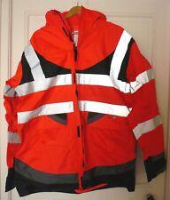 Parka haute visibilité/veste de pluie, homme T2S Annapurna, taille XL