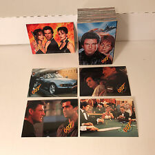 JAMES BOND 007 GOLDENEYE (1995) Complete Card Set PIERCE BROSNAN w/ PROMO CARD