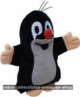 Krtek Little mole Maulwurf Plush Toy Hand Puppet 20 cm Zdenek Miller Boys Girls