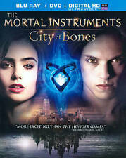 The Mortal Instruments: City of Bones (Blu-ray/DVD, 2013, 2-Disc Set,...