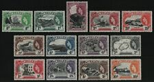 St. Helena 1953 - Mi-Nr. 123-135 ** - MNH - Freimarken / Definitives (II)