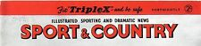 1952 Magazine SPORT Society FARMING Coursing Ball OSLO OLYMPICS Poultry (0183)
