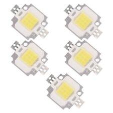 5 X LED natura modulo bianco LED lampadina 10W 20000K 9 - 12V 900LM W2K7