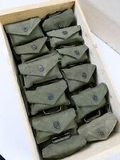 1x St. US ARMY WW2 Koppeltasche + Verbandpäckchen First Aid Dressing pistol belt