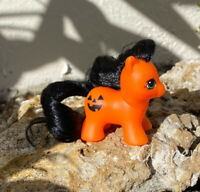 G1 Style Pony Custom Hqg1c - Lil' Pumpkin - Halloween - Teeny Itty Bitty Tiny