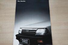 191001) Toyota Starlet Prospekt 06/1987