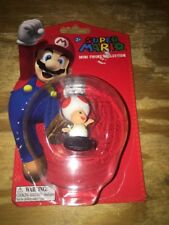 "Toad Waving 2"" Super Mario Mini-Figure Collection Series 3 NEW in Package"