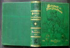 Festschrift der Stadt Schaffhausen zur Bundesfeier 1501-1901