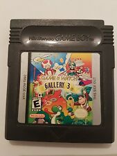 Game and Watch Gallery 3 para game boy Pal Usa