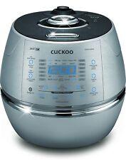 CUCKOO IH 2.0 Pressure RICE COOKER l CRP-CHSS1009FN Silver/Black (10 Cup)