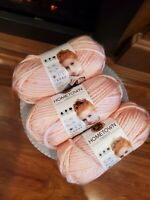 Providence Pink by Lion Brand Yarn Hometown USA,  3 Skeins Brand New
