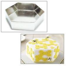 """Single Hexagon Birthday Cake Tin 10"""""""
