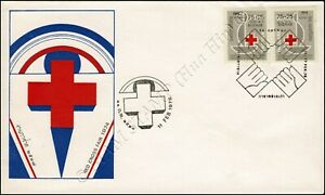 Red Cross 1975 -FDC(I)-IS-