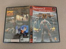 GOD OF WAR II 2 GH PLAYSTATION 2 PS2 EX CONDITION COMPLETE!