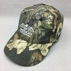 Mossy Oak American National Camo Hunting Logo Hat Strap Back Adjustable Cap