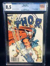 Thor #337 CGC 8.5 1st App Of Beta Ray Bill Newsstand Copy 1983