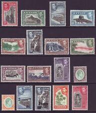 Ceylon 1938 SC 278-295 MH Set