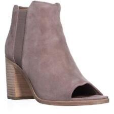 Frye Danica Chelsea Block Heel Slip on Ankle BOOTS Dusty Rose 8.5 US