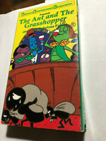 THE ANT AND THE GRASSHOPPER & OTHER FABULOUS FABLES VHS 1991