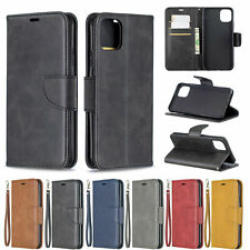 For iPhone 11 Pro XS Max XR 5 SE 6 7 8 Flip Leather Card Wallet Phone Case Cover