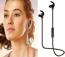 CUFFIA SPORTS AURICOLARE BLUETOOTH 4.1 SENZA FILI HEADSET PER IPHONE SAMSUNG LG