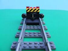 New Lego City Train Stop Buffer Fits 3677 7939 10194 10027 60052 9V Track Rail