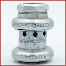 """CAMPAGNOLO SUPER RECORD 1st GEN HEADSET 1"""" INCH VINTAGE THREADED 70s ITA FIRST"""