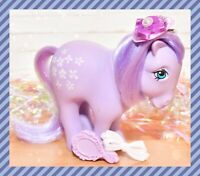 ❤️My Little Pony MLP G1 Vtg 1982 Blossom Italy Italian Nirvana Purple Flowers❤️