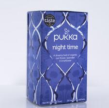 Pukka Night Time Tea - 20 Tea Satchets - Peaceful Sleep Tea