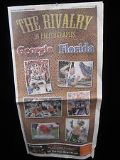 2013 GEORGIA FLORIDA REVIEW~ RIVALRY IN PHOTOGRAPHS NCFL euc!