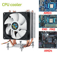 4 Pipe 3/4 Pin CPU Cooler Heatsink Cooling Fan For Intel 1156/1155/1151