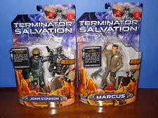 "Terminator Salvation Lot 2 JOHN CONNOR & MARCUS  6"" fig"