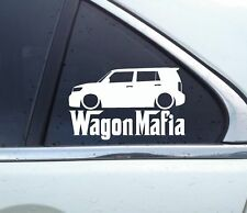 Lowered WAGON MAFIA sticker - for Scion XB 2nd gen (2008-2015)