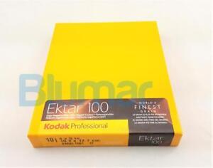 KODAK EKTAR 100 4x5 inch large format ISO 100 COLOR NEGATIVE film FRESH 4-2020