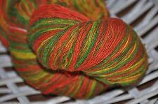 100% Schurwolle Tücherwolle Schafwolle Lace Strickgarn handgefärbt *134* LL 700m